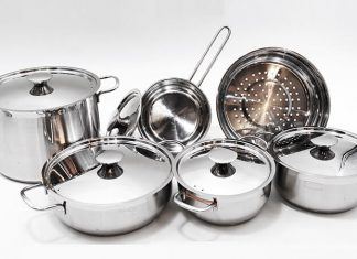 18/8 stainless steel kitchen ware