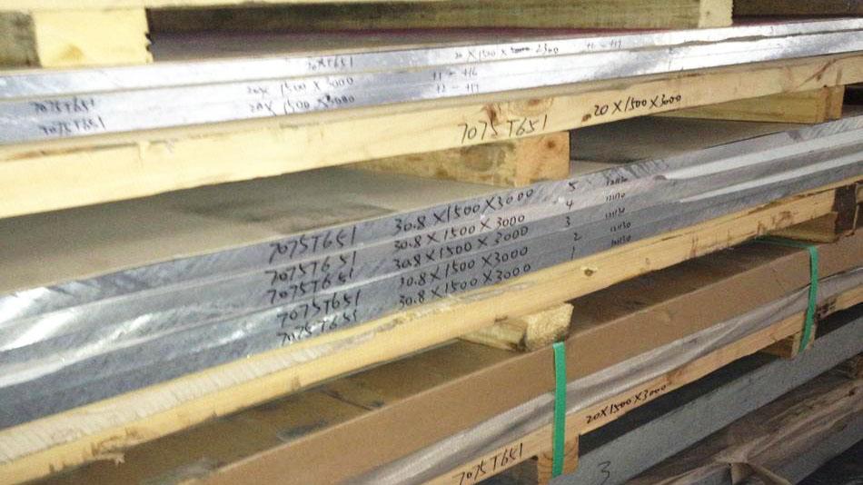 Al 7075 Aluminum Alloy Plate AA 7075-T6 T7351 T651