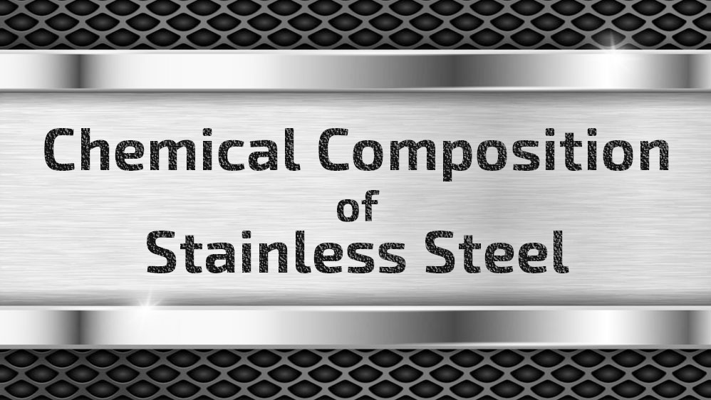 stainless steel composition percentage