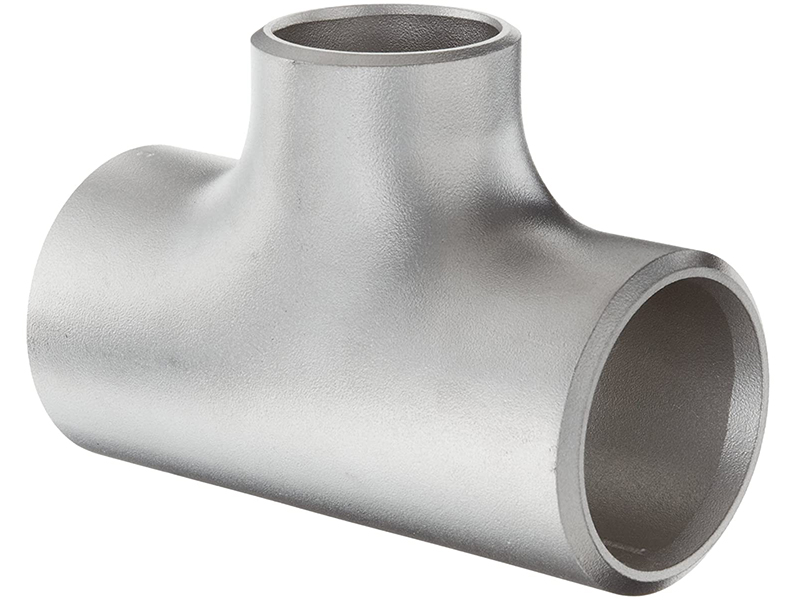 SS304 AISI 304L stainless steel reducing tee