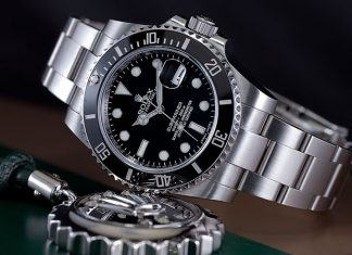 Rolex 904L stainless steel watch