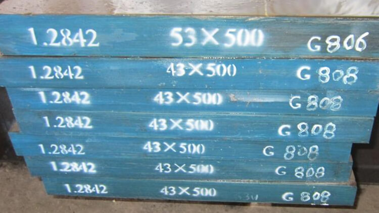 DIN EN 1.2842 Steel 90MnCrV8 Material