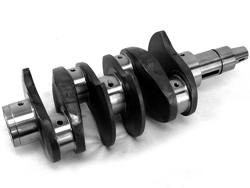 SAE AISI 4340 steel crankshaft