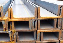 steel channel made from q355 steel